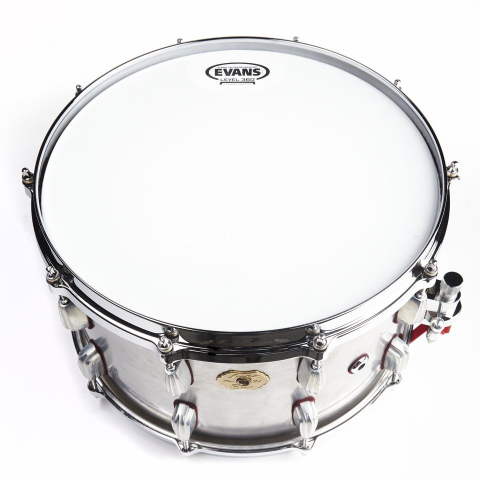 "Masshoff Drums Custom Snare Big Chief 14""x8"", Raw Finish Produktbild"