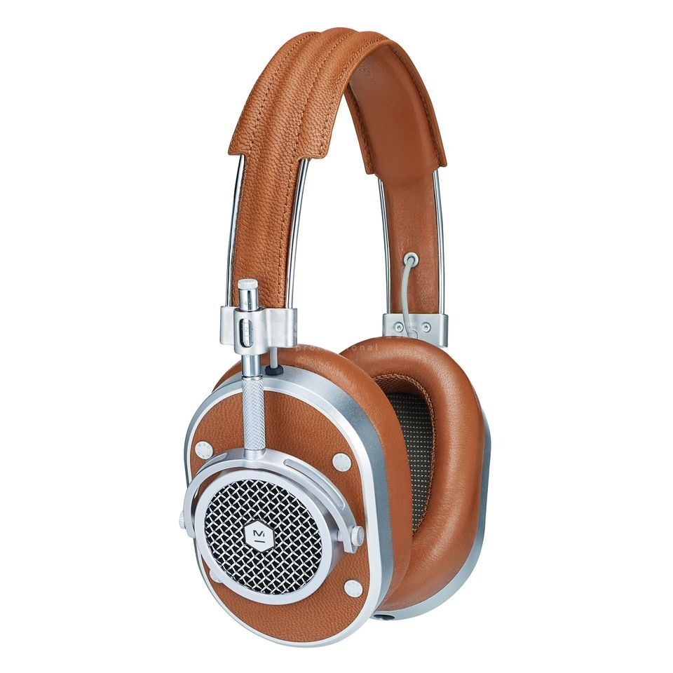 Master & Dynamic MH40 Brown/Silver Product Image