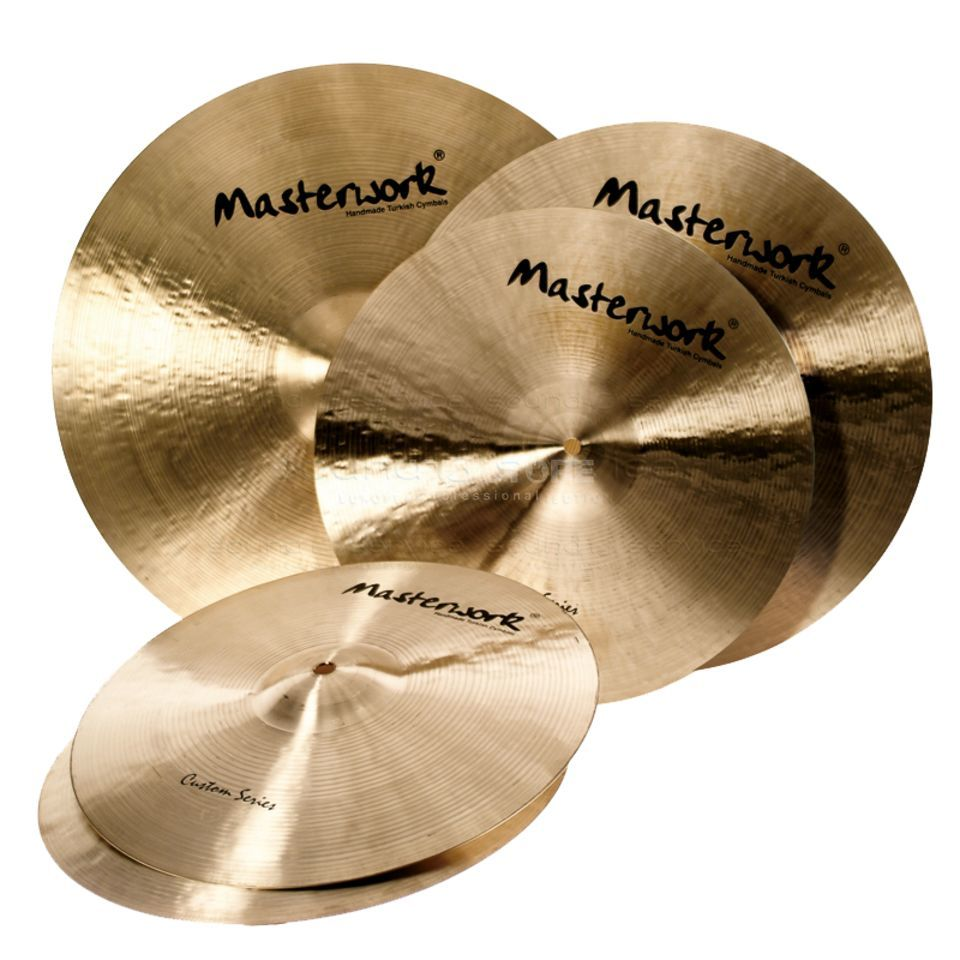 "Masterwork Custom Professional Set 14"" HH Rock, 16""&18"" CR, 20"" R Produktbild"
