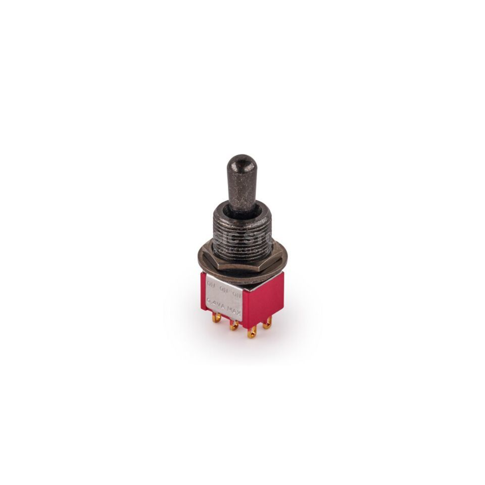 MEC Mini Toggle Switch black on-on-on Produktbillede