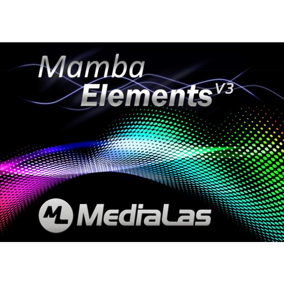 MediaLas MAMBA ELEMENTS V3 ILDA Software + USB Interface Produktbild