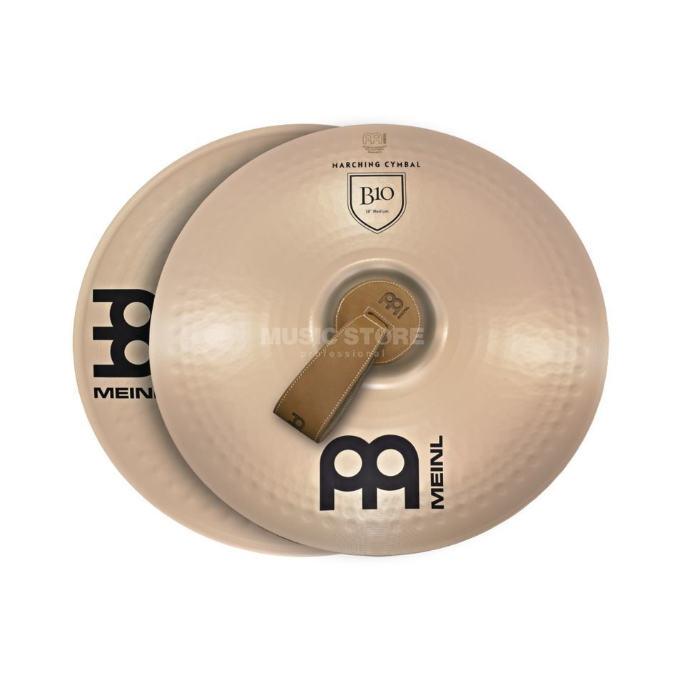 "Meinl B10 Marching Cymbals 16"", Medium, MA-B10-16M Produktbillede"