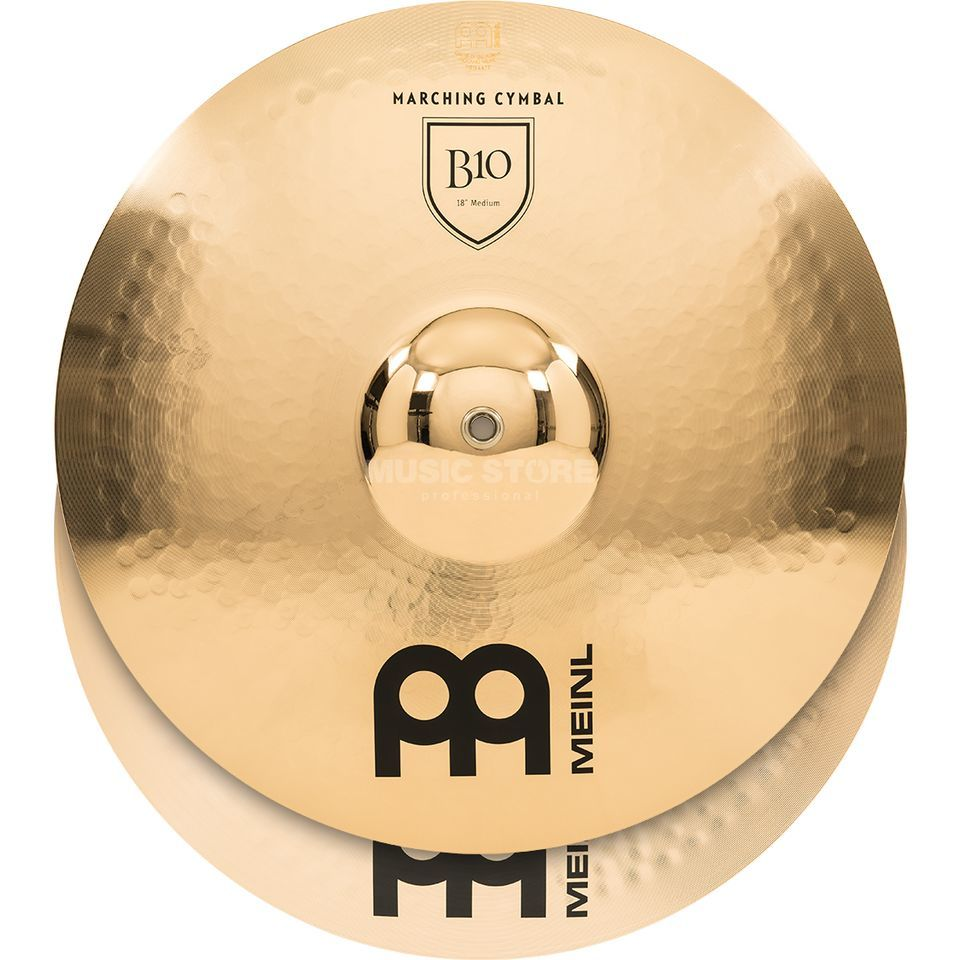 "Meinl B10 Marching Cymbals 18"", Medium, MA-B10-18M Produktbild"