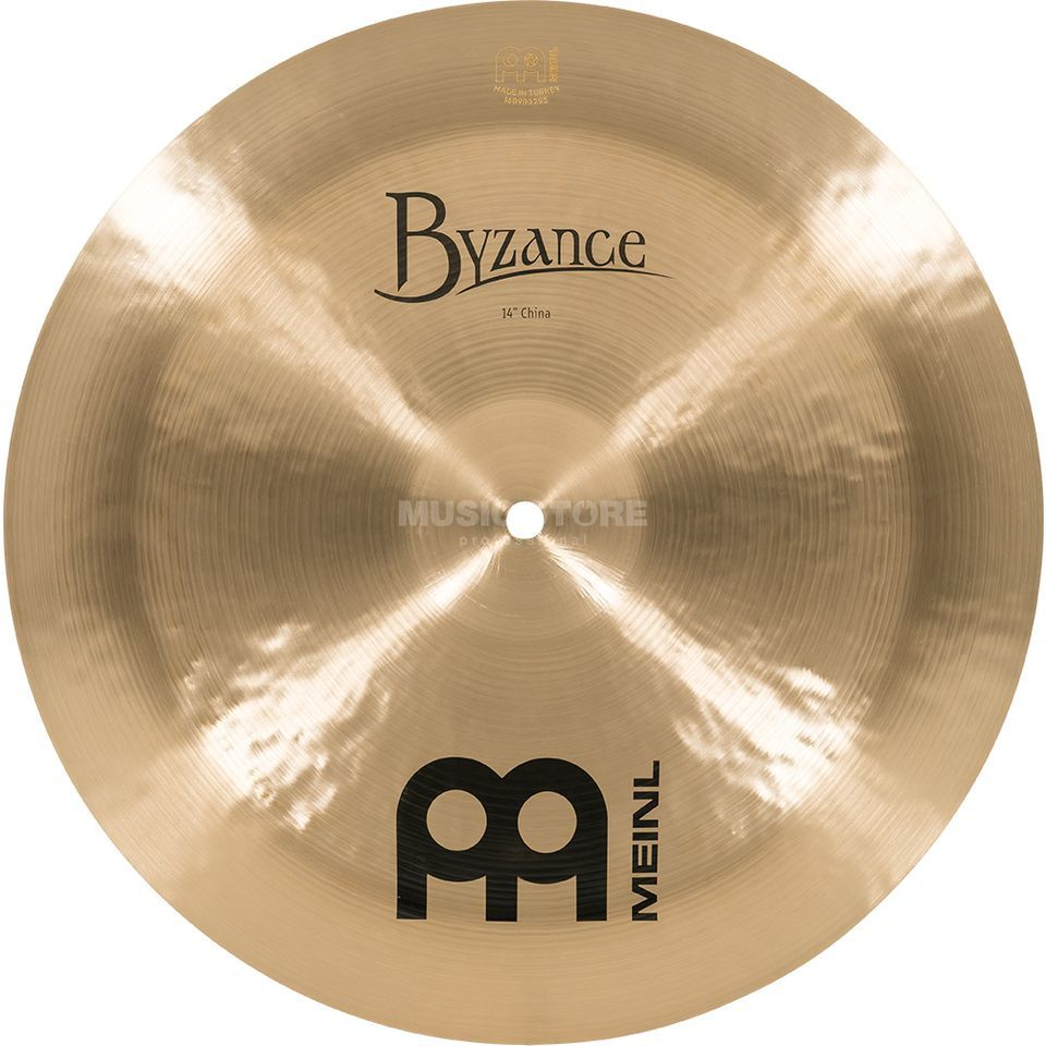 "Meinl Byzance China 14"" B14CH, finition traditionnelle Image du produit"
