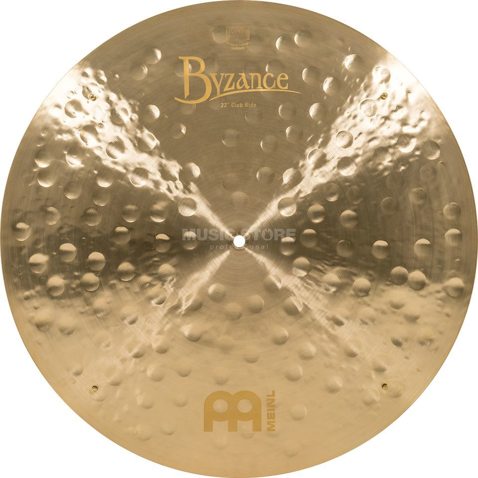 "Meinl Byzance Club Ride 22"", B22JCR, Jazz Finish, Sizzles Productafbeelding"