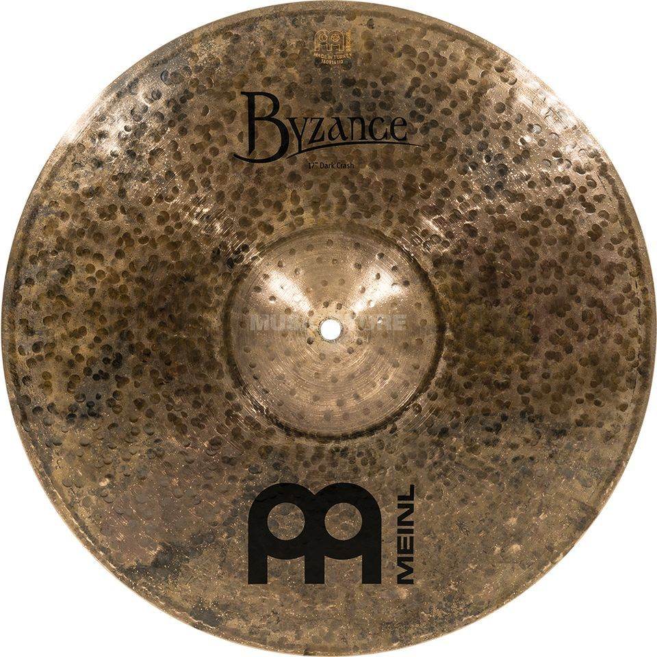 "Meinl Byzance Dark Crash 17"" B17DAC, Dark Finish Product Image"