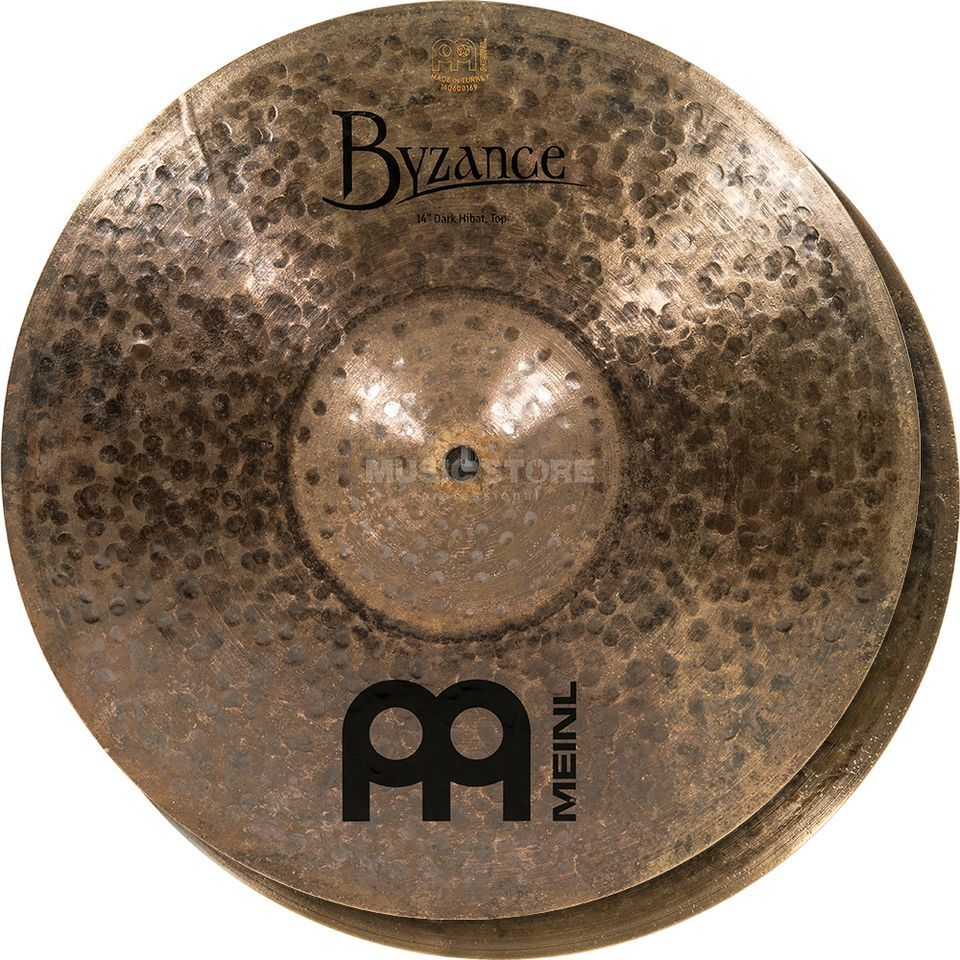 "Meinl Byzance Dark HiHat 14"", B14DAH, Dark Finish Product Image"