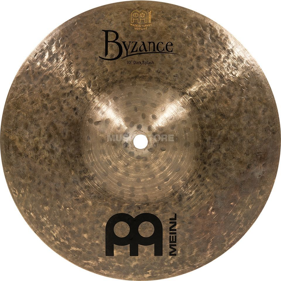 "Meinl Byzance Dark Splash 10"" B10DAS, Dark Finish Image du produit"