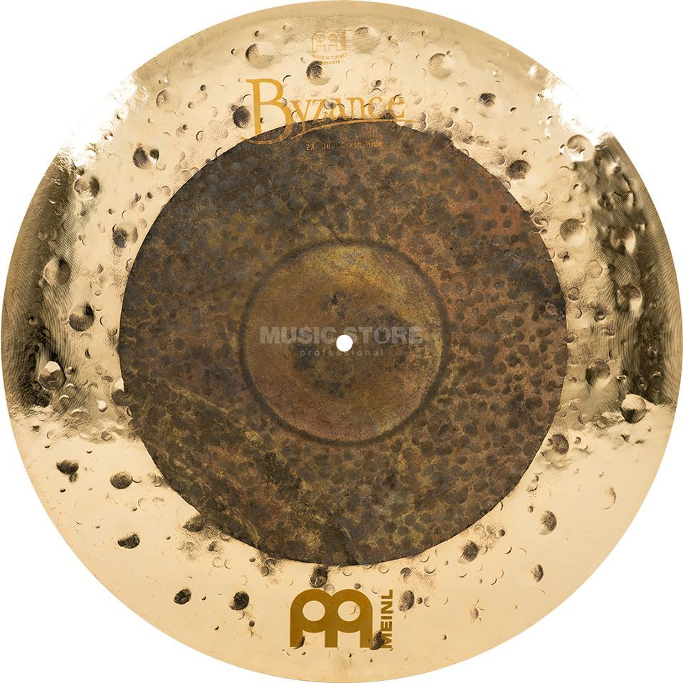 "Meinl Byzance Dual Crash-Ride 22"", B22DUCR, Extra Dry Product Image"