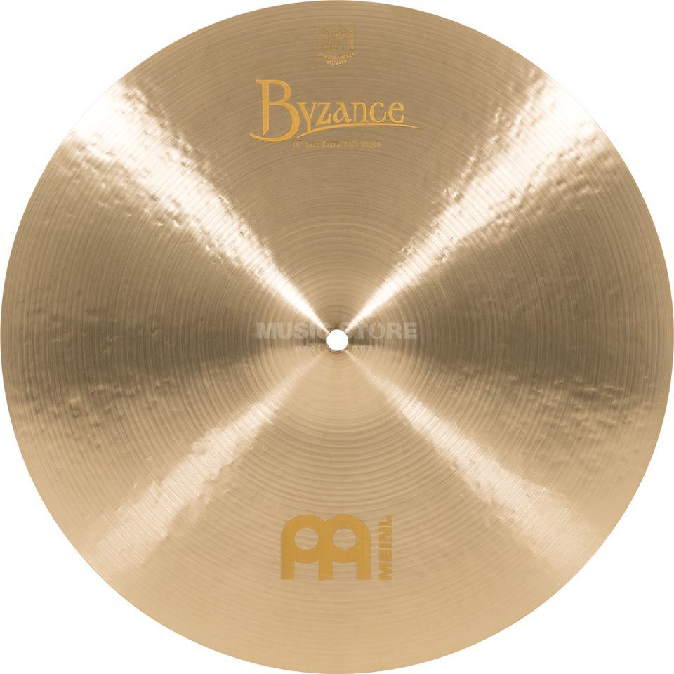 "Meinl Byzance Extra Thin Crash 16"" B16JETC, Jazz Finish Product Image"