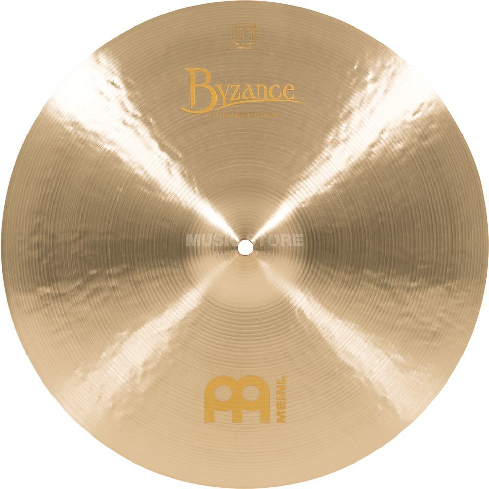"Meinl Byzance Extra Thin Crash 17"", B17JETC, Jazz Finish Product Image"