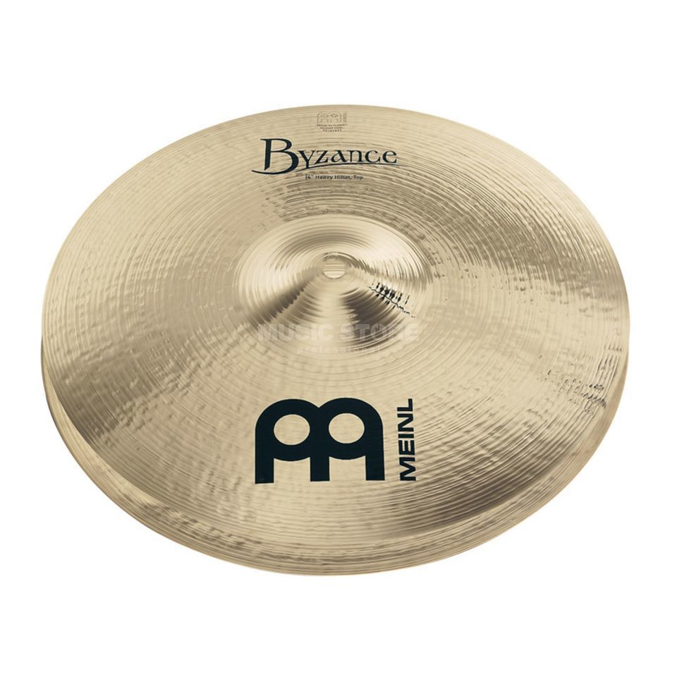 "Meinl Byzance Heavy HiHat 14"" B14HH-B, Brilliant Finish Product Image"