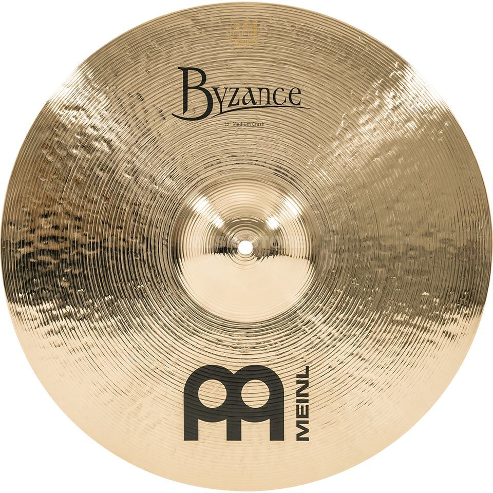 "Meinl Byzance Medium Crash 18"" B18MC-B, Brilliant Finish Produktbild"