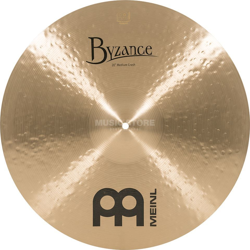 "Meinl Byzance Medium Crash 20"", B20MC, Traditional Finish Produktbild"