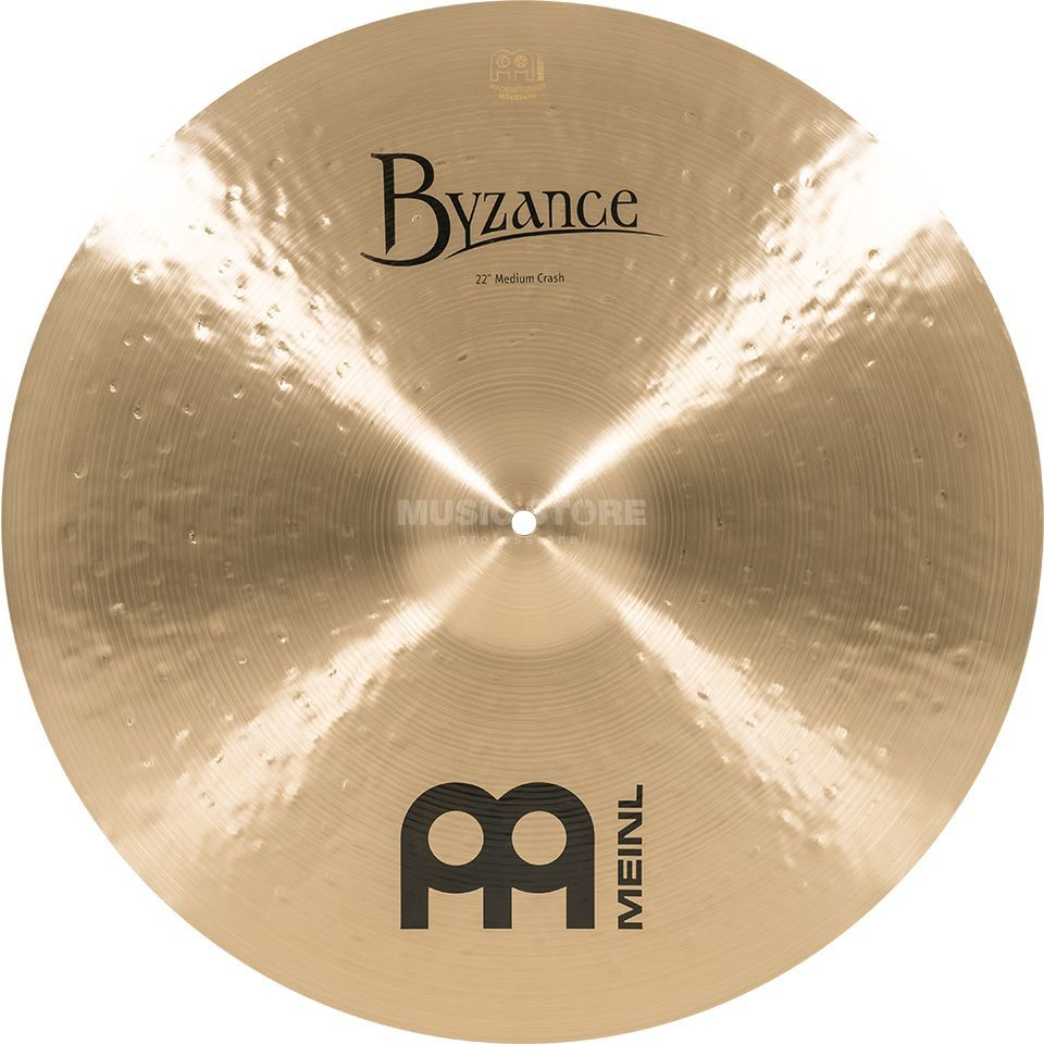 "Meinl Byzance Medium Crash 22"", B22MC, Traditional Finish Imagem do produto"