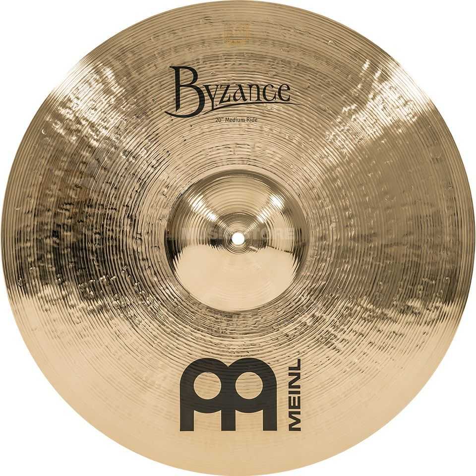 "Meinl Byzance Medium Ride 20"" B20MR-B, Brilliant Finish Imagem do produto"