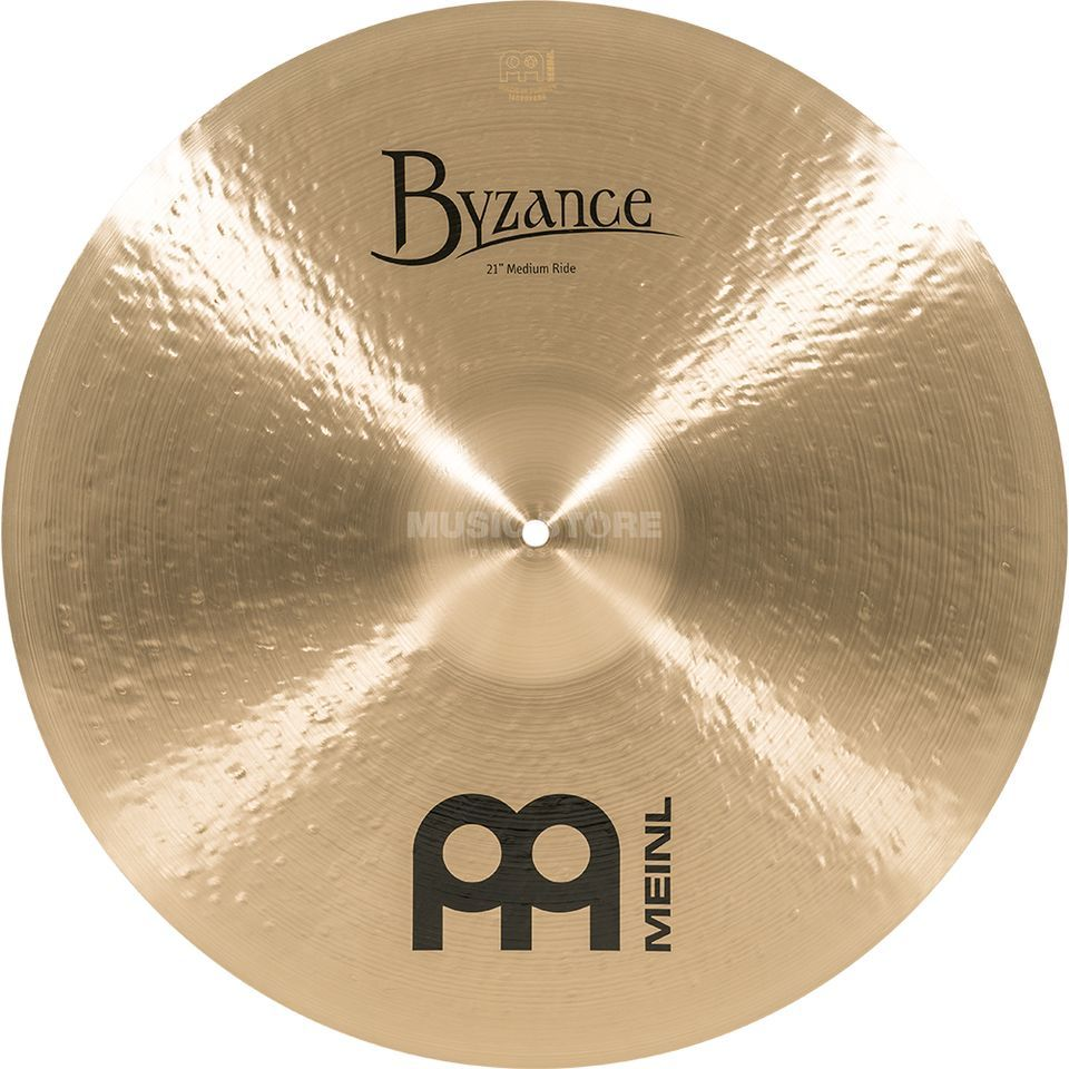 "Meinl Byzance Medium Ride 21"", B21MR, Traditional Finish Productafbeelding"