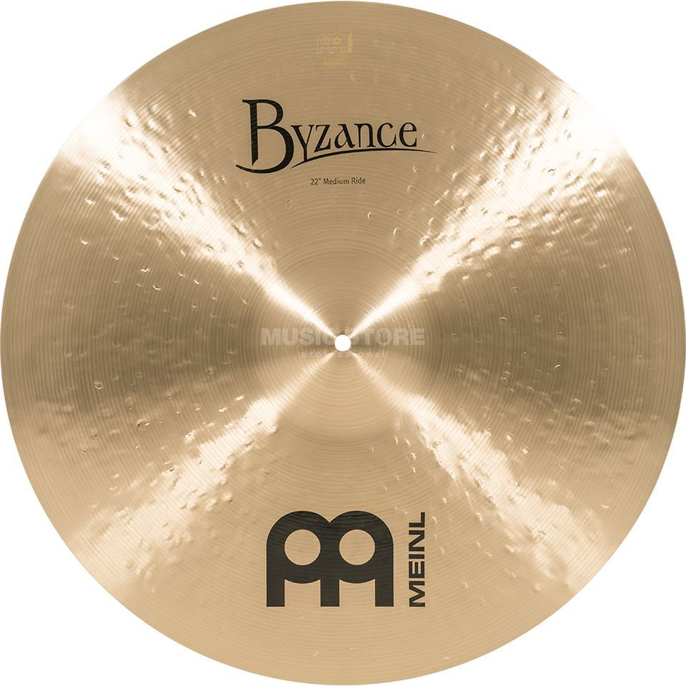 "Meinl Byzance Medium Ride 22"" B22MR, Traditional Finish Produktbillede"