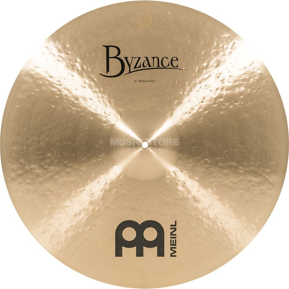 "Meinl Byzance Medium Ride 24"" B24MR, Traditional Finish Produktbild"
