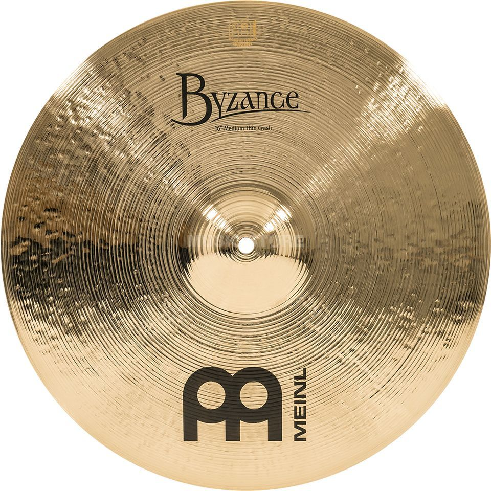 "Meinl Byzance Medium Thin Crash 16"" B16MTC-B, Brilliant Изображение товара"