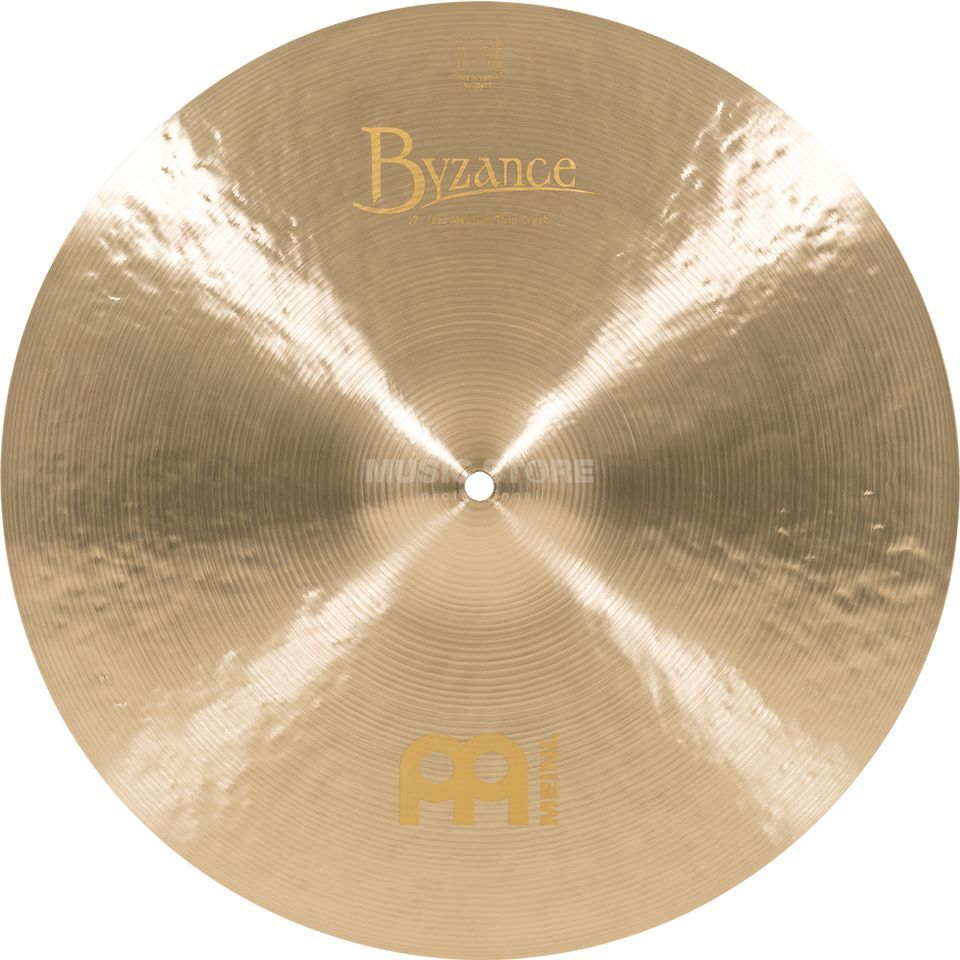 "Meinl Byzance Medium Thin Crash 17"", B17JMTC, Jazz Finish Produktbillede"