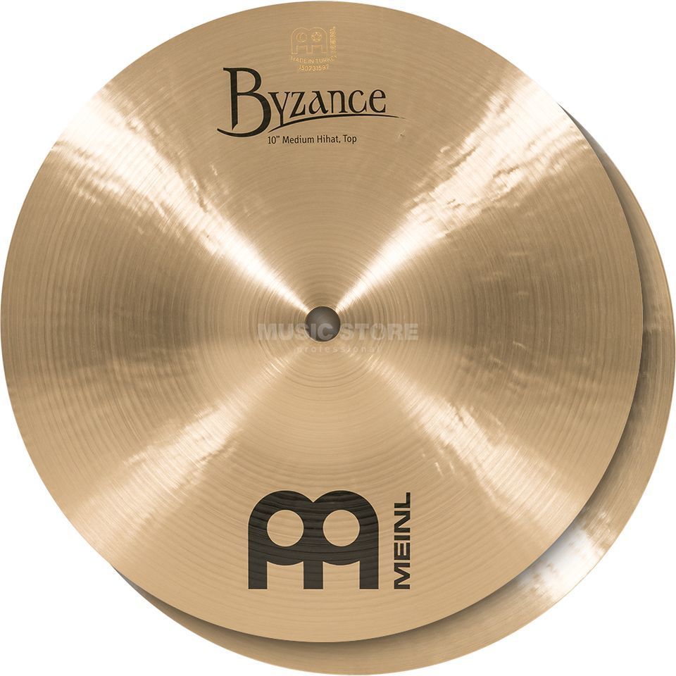 "Meinl Byzance Mini HiHat 10"" B10MH, Traditional Finish Produktbillede"