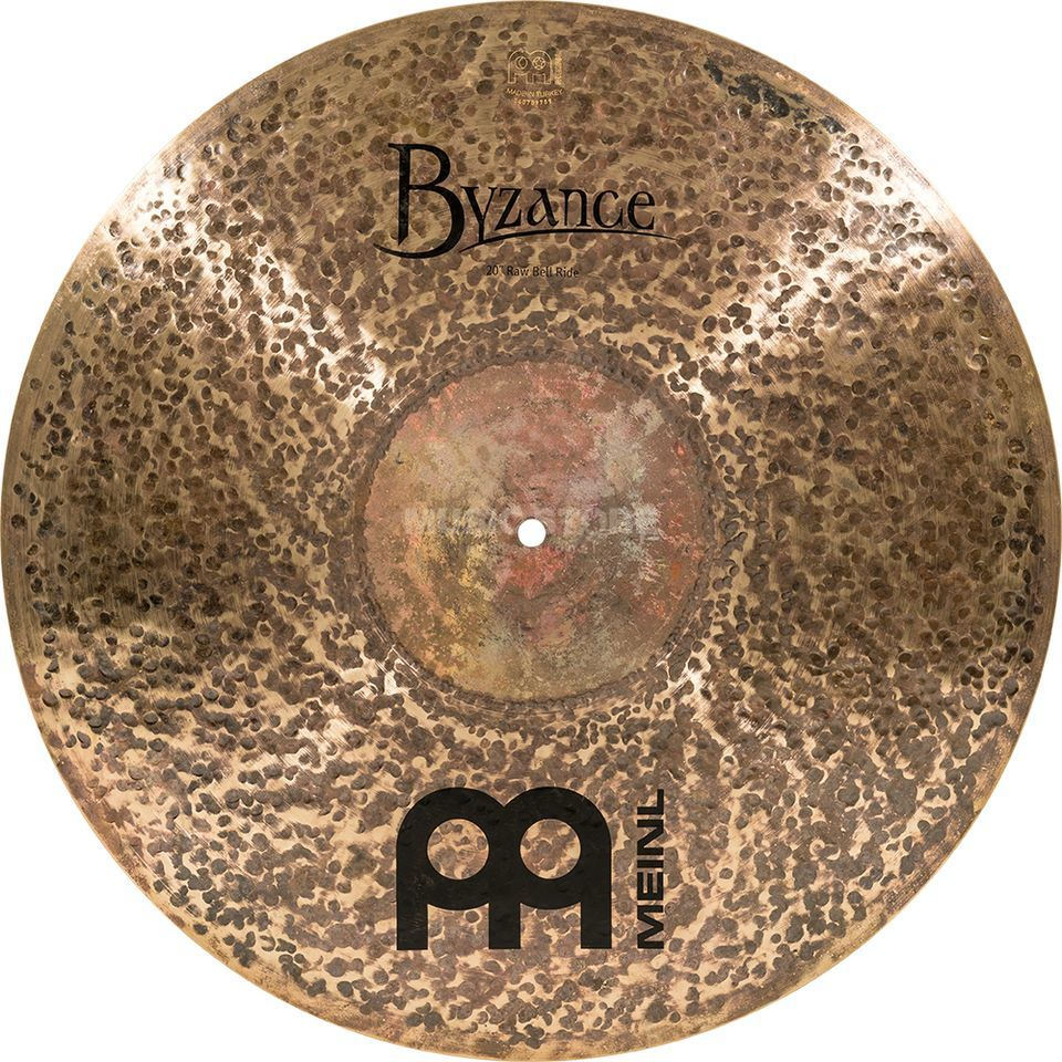 "Meinl Byzance Raw Bell Ride 20"", B20RBR, Dark Finish Product Image"