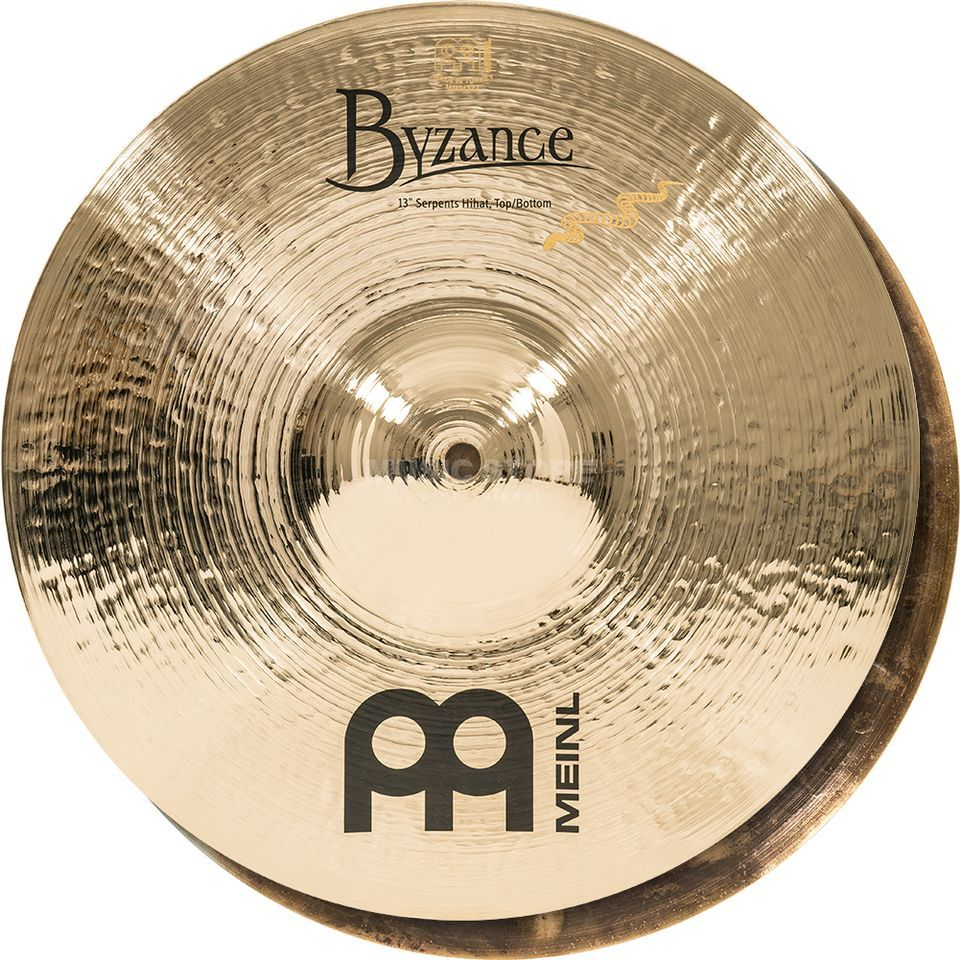 "Meinl Byzance Serpents HiHat 13"", B13SH-B, Brilliant Finish Produktbillede"