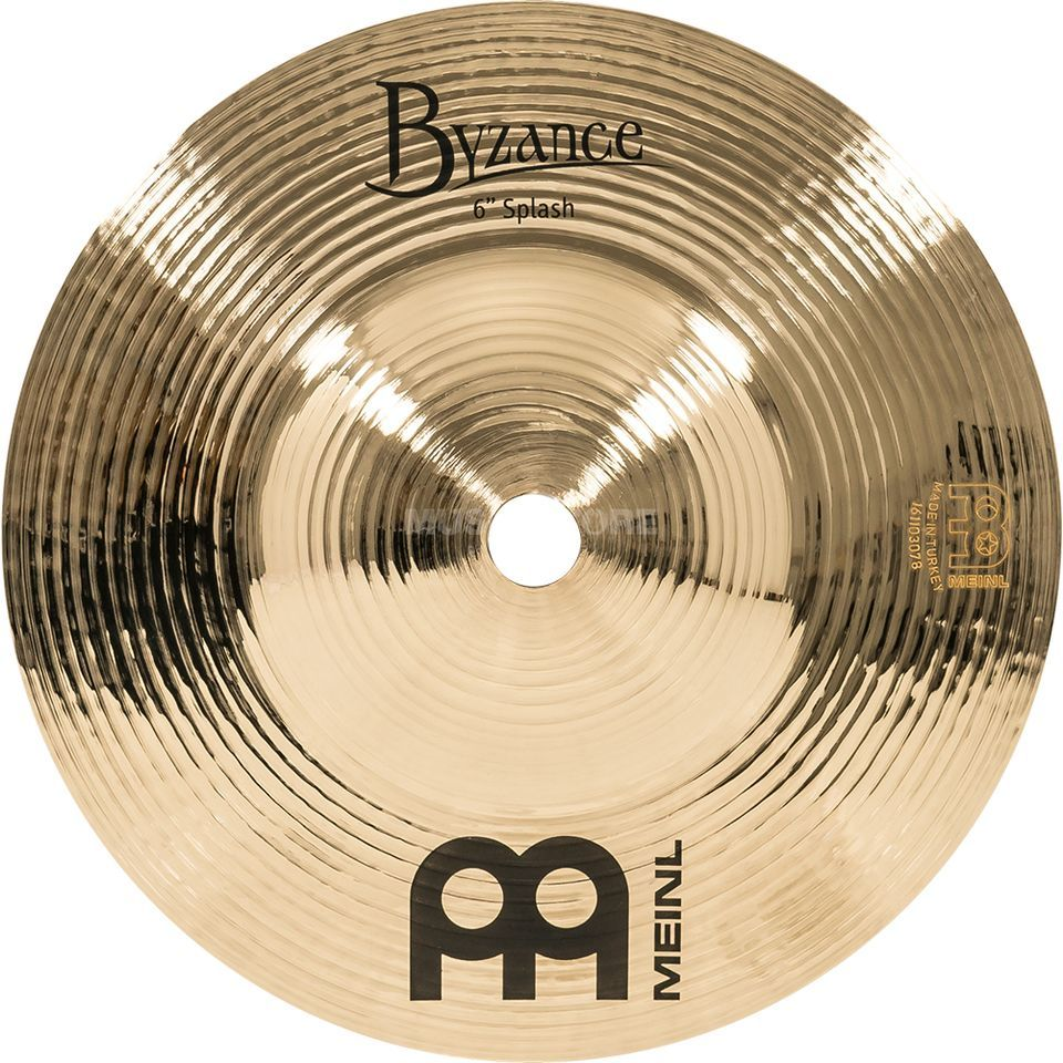 "Meinl Byzance Splash 6"", B6S-B, Brilliant Finish Product Image"