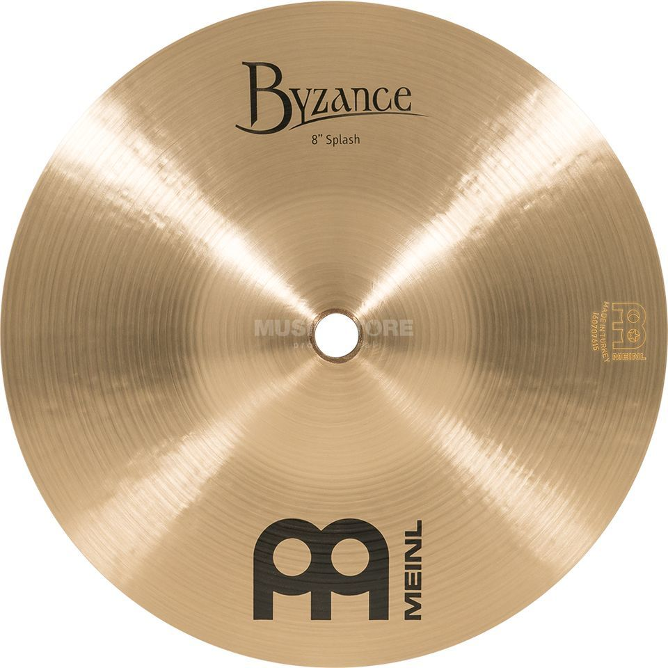 "Meinl Byzance Splash 8"" B8S, finition traditionnelle Image du produit"