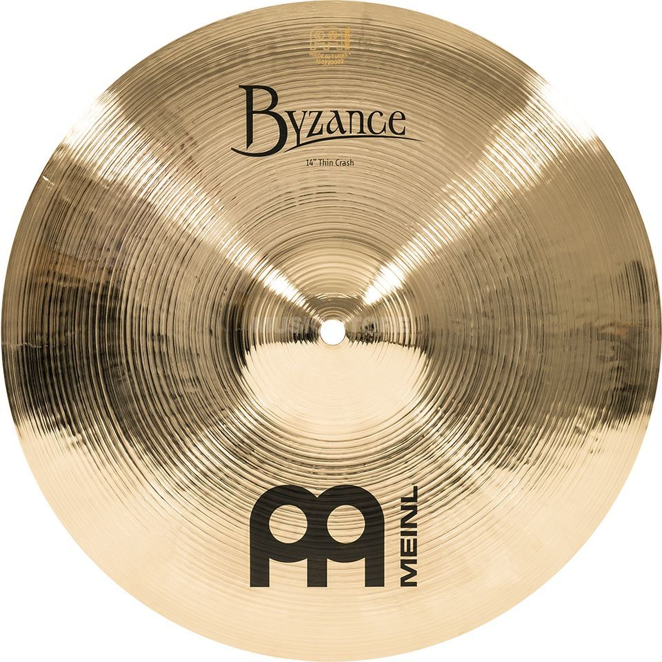 "Meinl Byzance Thin Crash 14"" B14TC-B, Brilliant Produktbild"