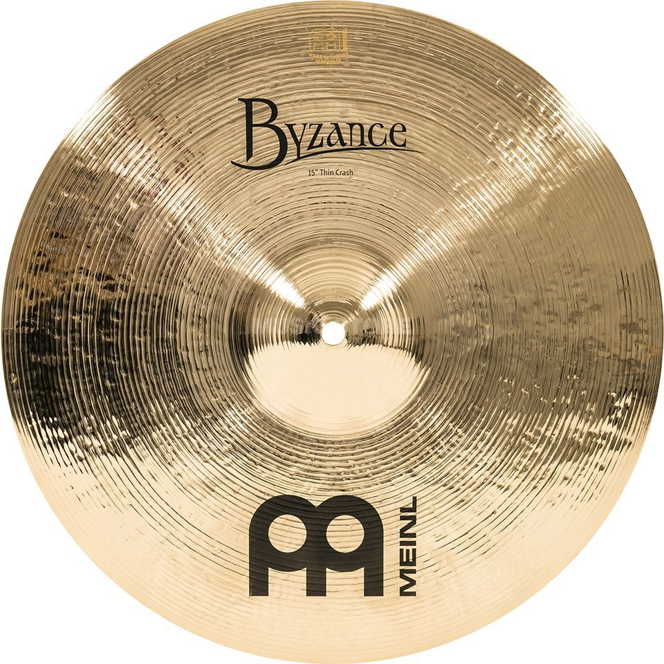 "Meinl Byzance Thin Crash 15"", B15TC-B, Brilliant Finish Produktbillede"
