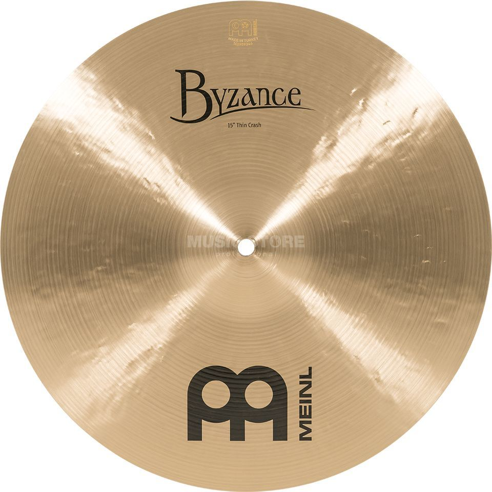 "Meinl Byzance Thin Crash 15"", B15TC, finition traditionnelle Image du produit"
