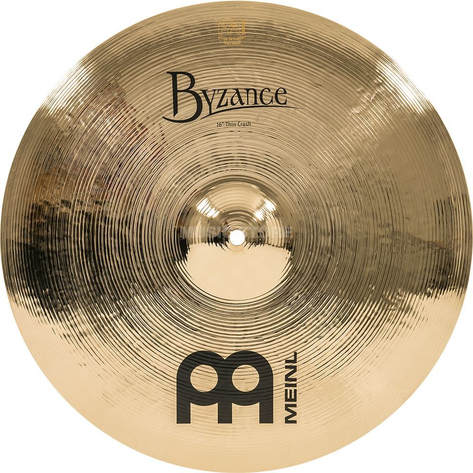 "Meinl Byzance Thin Crash 16"" B16TC-B, Brilliant Produktbild"