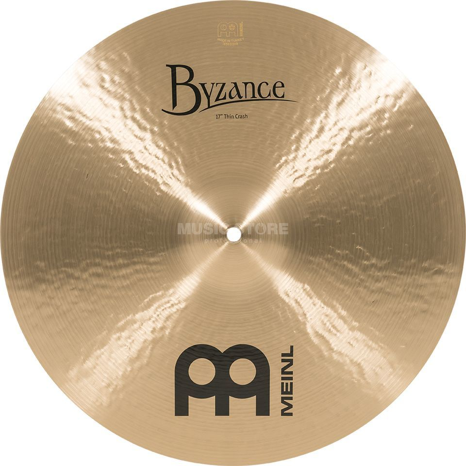 "Meinl Byzance Thin Crash 17"", B17TC, Traditional Finish Product Image"