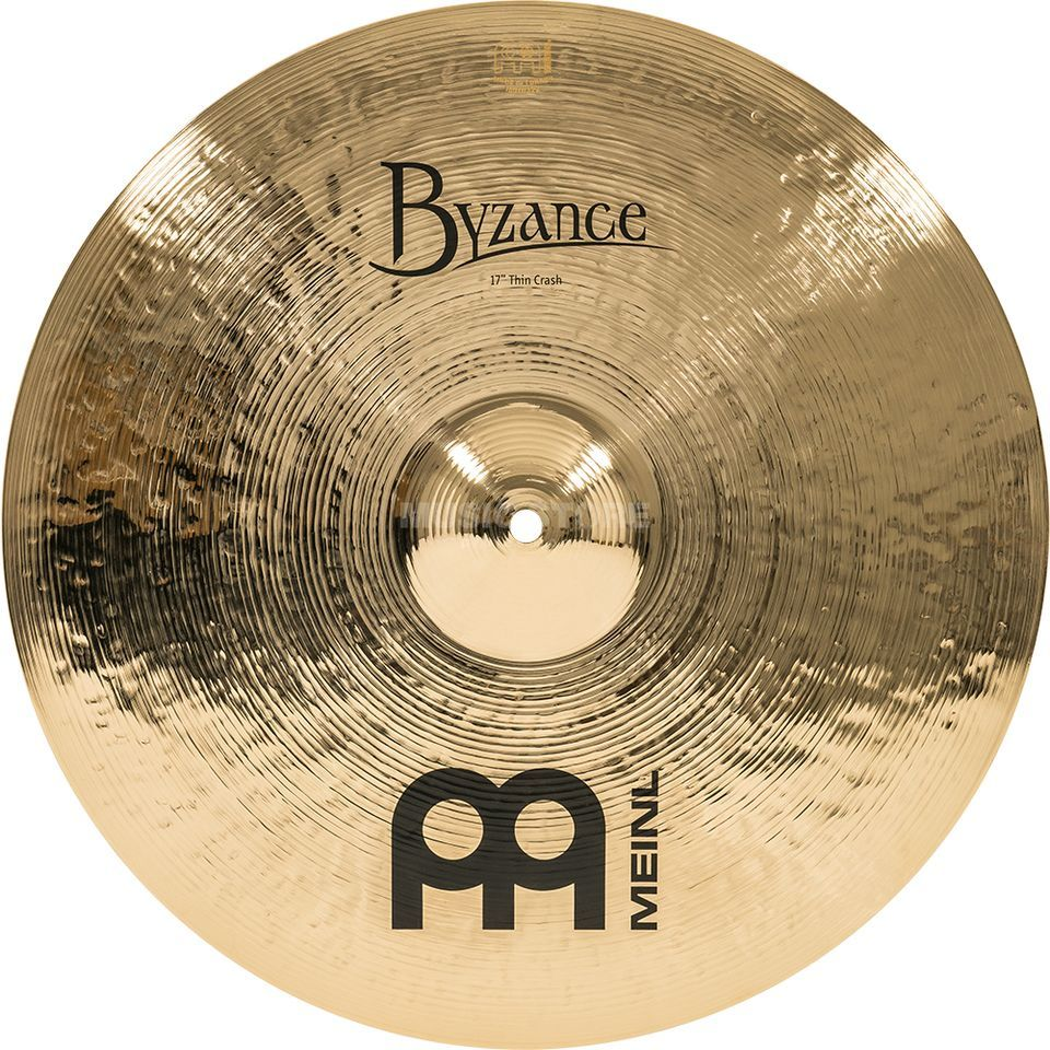 "Meinl Byzance Thin Crash 18"" B18TC-B, Brilliant Finish Imagem do produto"