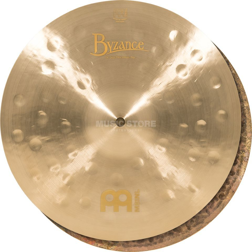 "Meinl Byzance Thin HiHat 14"" B14JTH, Jazz Finish Product Image"