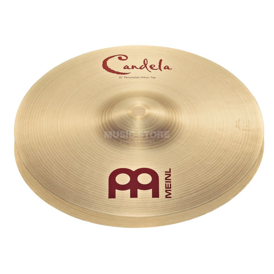 "Meinl Candela HiHat 10"", CA10PH, Percussion Cymbal Produktbild"