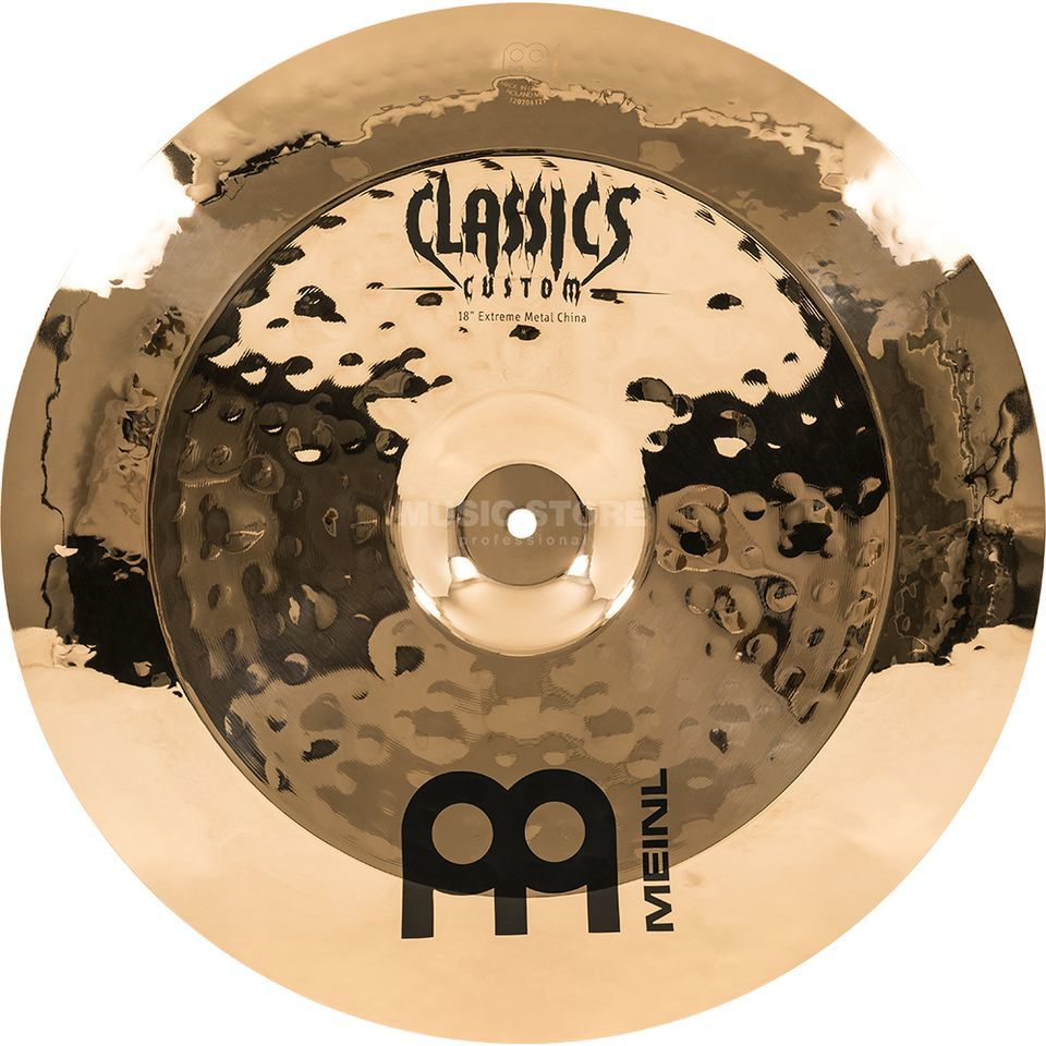 "Meinl Classics Custom China 18"", CC18EMCH-B, Extreme Metal Product Image"