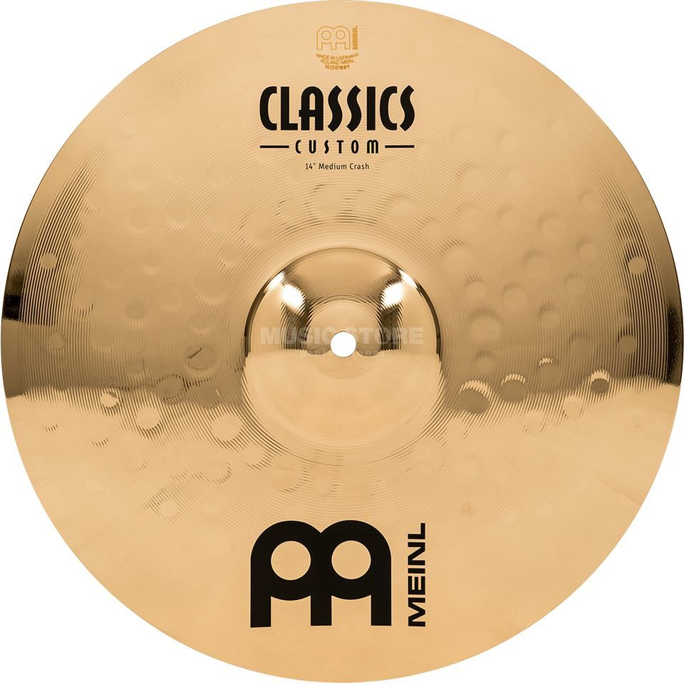 "Meinl Classics Custom Crash 14"" CC14MC-B, Medium Produktbillede"