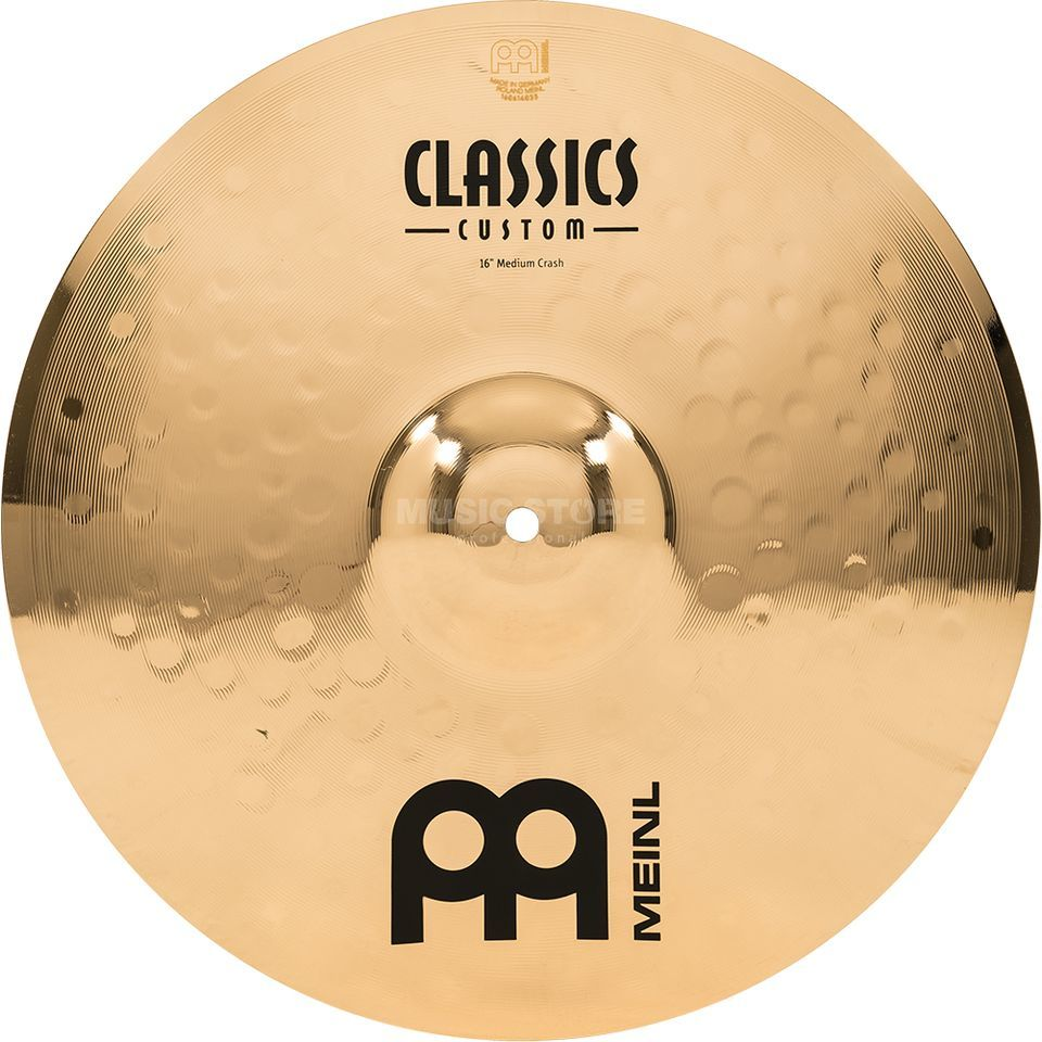"Meinl Classics Custom Crash 16"" CC16MC-B, Medium Produktbild"