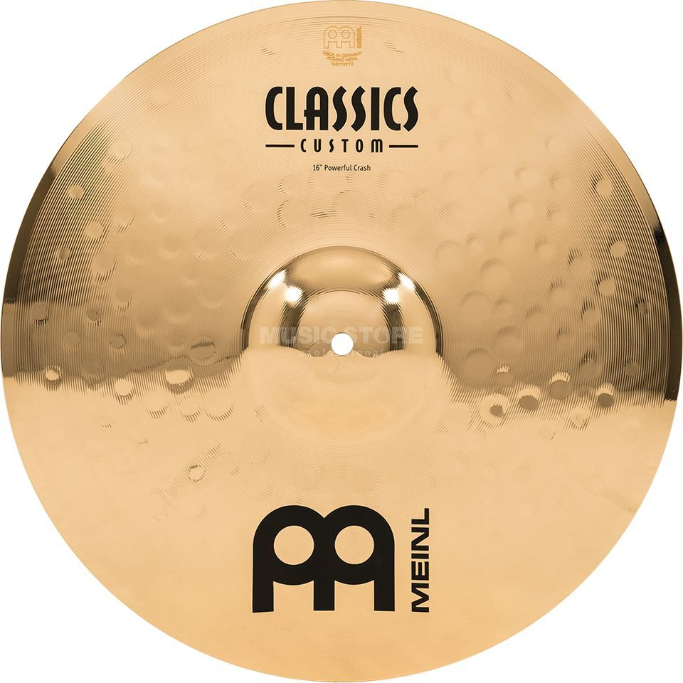 "Meinl Classics Custom Crash 16"" CC16PC-B, Powerful Produktbild"