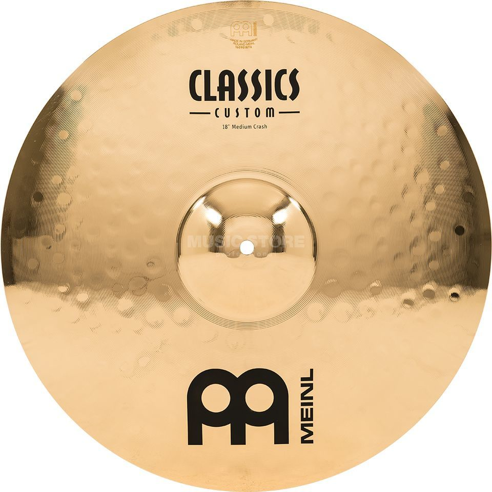 "Meinl Classics Custom Crash 18"" CC18MC-B, Medium Product Image"