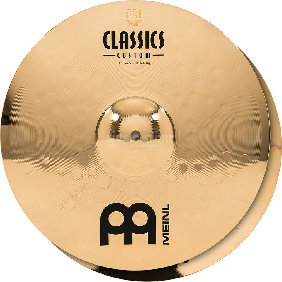 "Meinl Classics Custom HiHat 14"" CC14PH-B, Powerful Product Image"