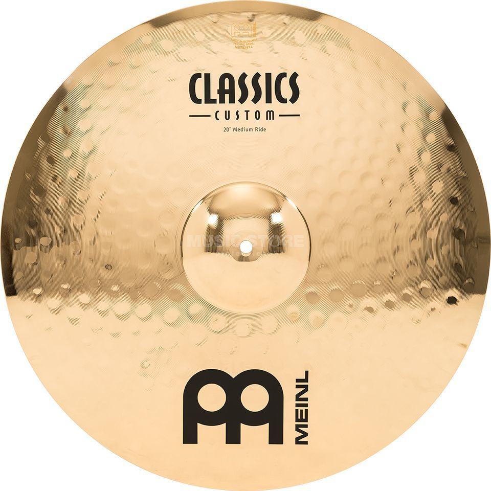 "Meinl Classics Custom Ride 20"", CC20MR-B, Medium Productafbeelding"