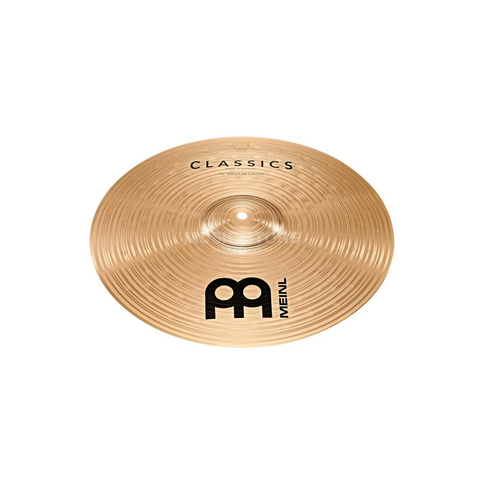 "Meinl Classics Medium Crash 16"" C16MC Productafbeelding"