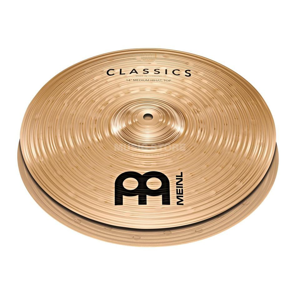 "Meinl Classics Powerful HiHat 14"" C14PH Product Image"