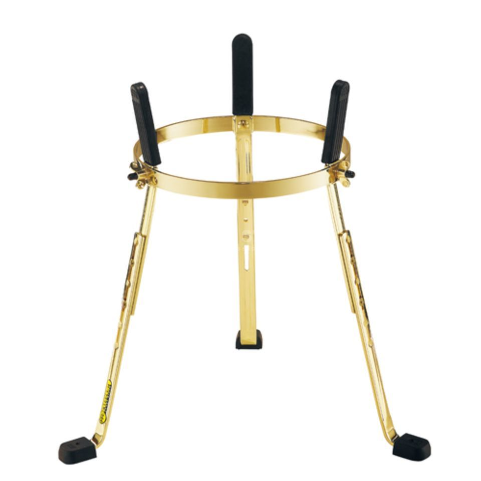 "Meinl Conga stand ST-MSA1134G, 11 3/4"", Steely II, Gold Product Image"