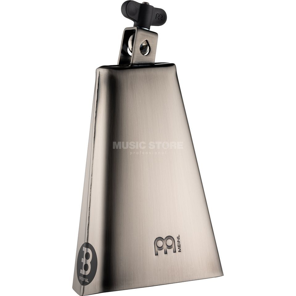 "Meinl Cowbell STB80B, 8"", Big Mouth, Hand Brush Steel, Overstock Product Image"