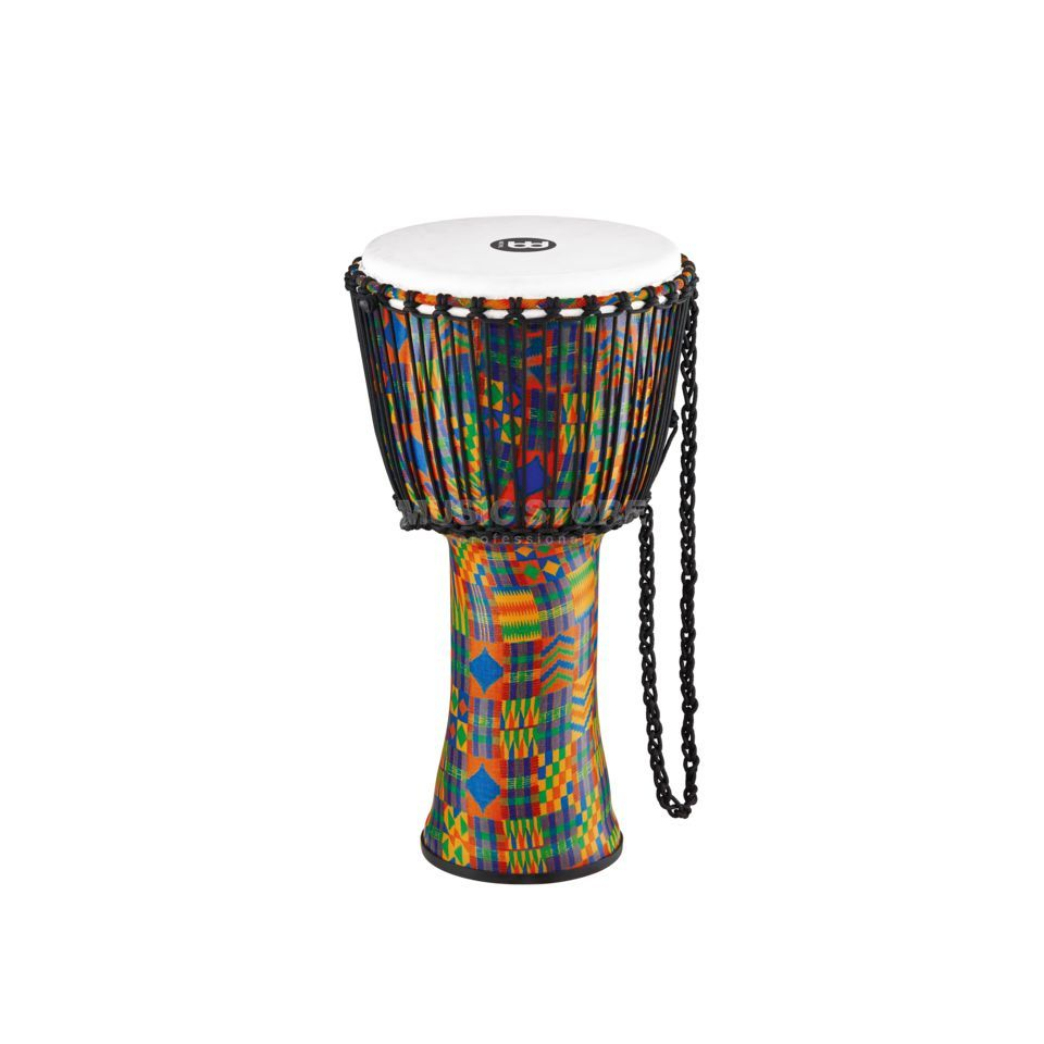 "Meinl Djembe PADJ2-L-F, 12"", Kenyan Quilt, Synthetic Head Изображение товара"